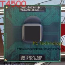 Original Intel Pentium CPU T4500 (1M Cache, 2.30GHz, 800MHz FSB) 35W PGA478 laptop processor free shipping