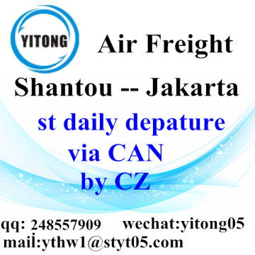 Shantou International Air Freight Forwarding to Jakarta