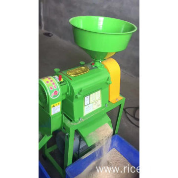 Mini fully automatic rice mill