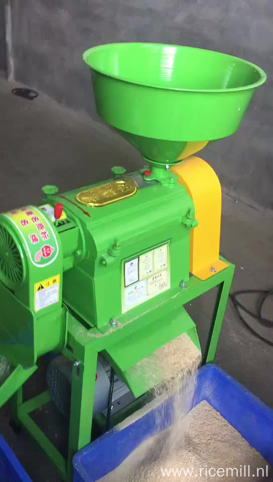 Paddy Sheller Grain Polisher flour mill machinery