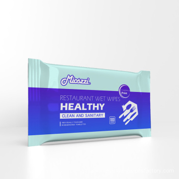 Best Private Label Restaurant Wet Wipes