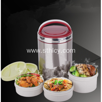 Stainless Steel Portable Food Flask Food Container