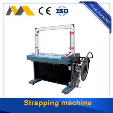 Adjustable speed strapping machine with exported standard