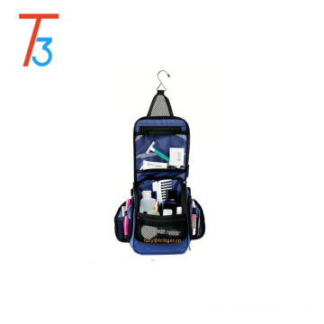 Compacto Pendurado Toiletry Travel Bag Personal Organizer