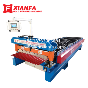 Wave Profile Roofing Sheet Forming Machine