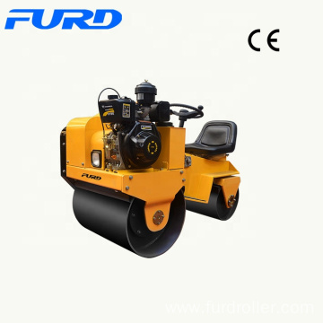Cheap Price 700kg Driving Two Wheels Vibratory Roller