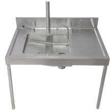 hospital bedpan sluice sink