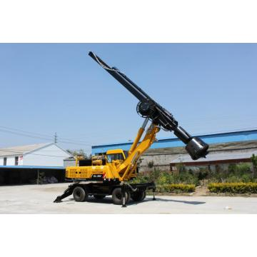 High quality 15-20m wheel pile driver