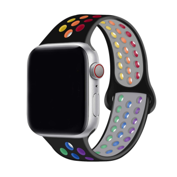 Custom Silicone Apple Watch Band