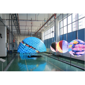 P6 2m diameter led spherical screen