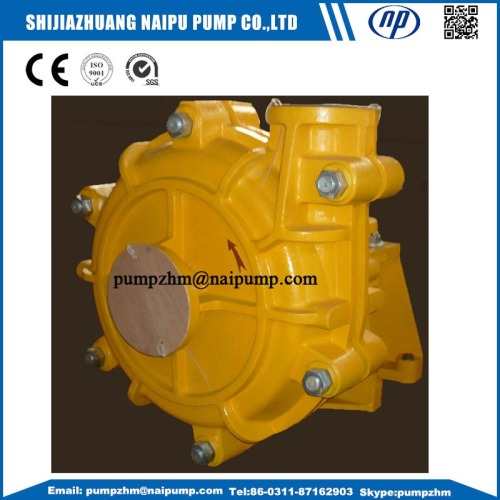 4/3HH high head horizontal slurry pump
