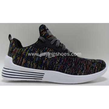 new fashion comfortable breathable flyknit mesh sport shoes