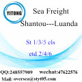 Shantou Port LCL Consolidation To Luanda