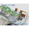 SF-91 / SF91(5Pin+8Pin) with mechamism SF-91 5P+8P Double row plug CD player laser lens SF 91