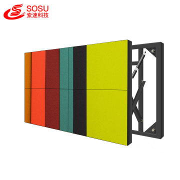 HD lcd video screen wall for exhibition