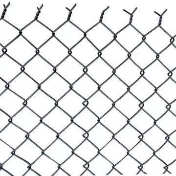 High security diamond shape used chain link fence