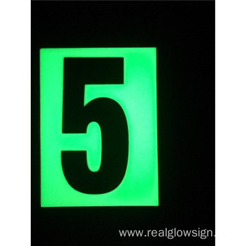 Realglow Photoluminescent  Flat Number 5