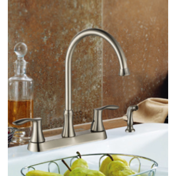 Kitchen Faucet with double handle