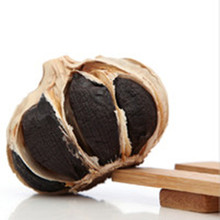Cook raw whole black garlic