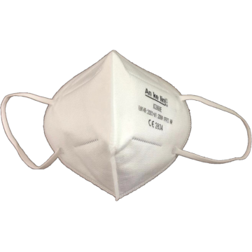 4 Layer protective disposable mask without volve