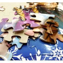 custom children's 48PC development intellectual paper puzzle