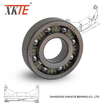 Open Type Polyamide Cage Bearing 6307 TN/KA C3