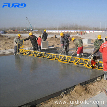 Gasoline Concrete Truss Screed Used To Road Leveling