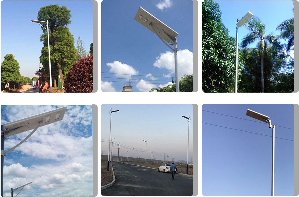 Solar Street Light Pole Price List