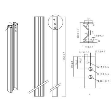 steel sigma profile section