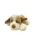 Plush Dog Brown And White