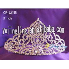 Glitz Pageant Silver Crowns