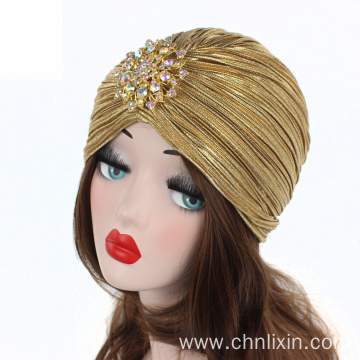 Premium turban cap winter hat bandanas hat