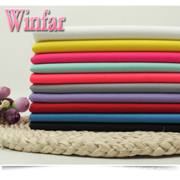 Cool Dry Wicking Polyester Knit  Mesh Fabric