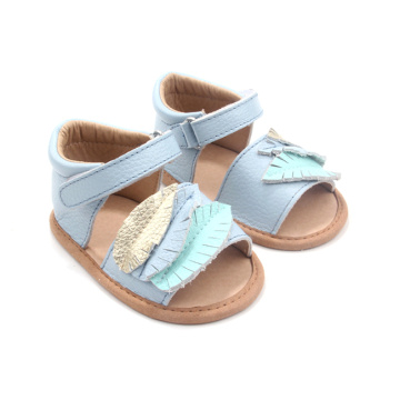 Perfect Quality Three-dimensional leaves Girls Sandals