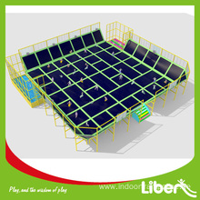 Rectangle cheap oval trampoline safety