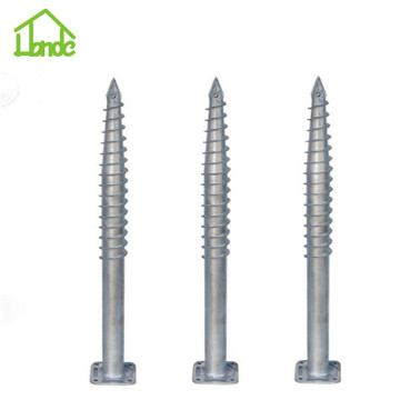 Eco-friendly hot galvanized ground pile