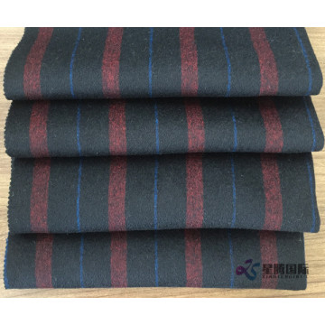 Multi Color Vertical Stripe 100% Wool Fabric