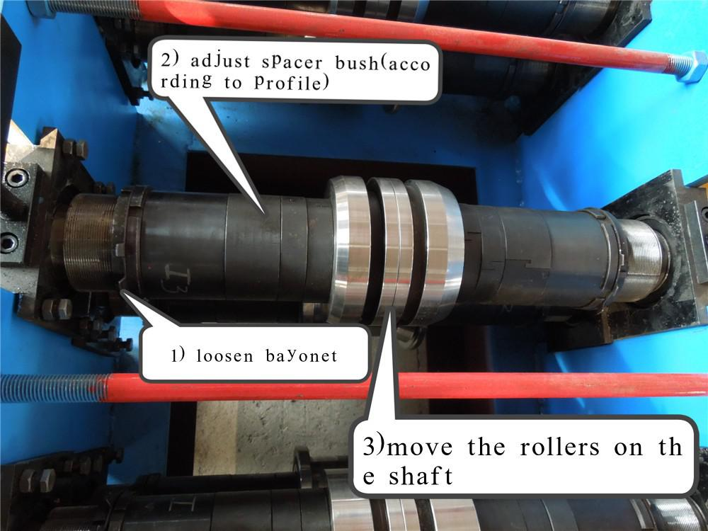 PV solar bracket roll forming machine