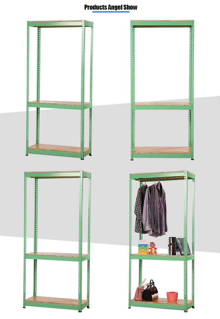 Slotted Angle Shelf Rack
