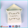 Customized Logo Fancy Cardboard Jewelry Ring Box