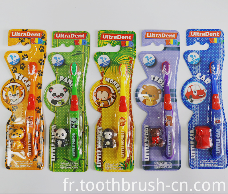 Cartoon Picture Hotel Kids Toothbrush
