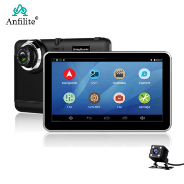 Anfilite Car DVR 7 inch Android dash cam wifi GPS Navigation fhd 1080p Camera Recorder Vehicle Recorder free EU Russia maps
