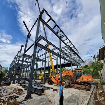 House prefab steel structure frame