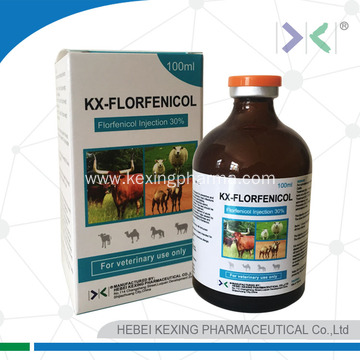 Florfenicol injection for animal use