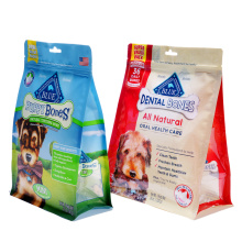 Flat Bottom With Zipper Dog Food Pouches