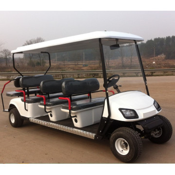 8 seaters retro gas powered golf carts