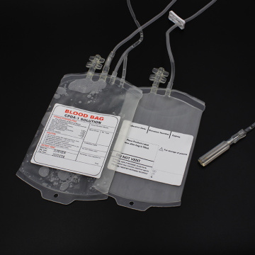Double Blood Collection Bag with CPDA