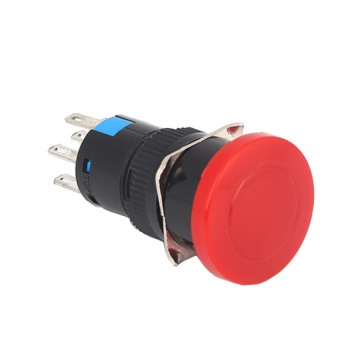 SDL16-11M Mushroom Pushbutton Switch