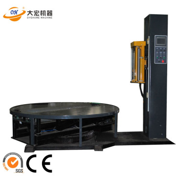 PLC control Reel Paper Film Stretch Wrapping Machine