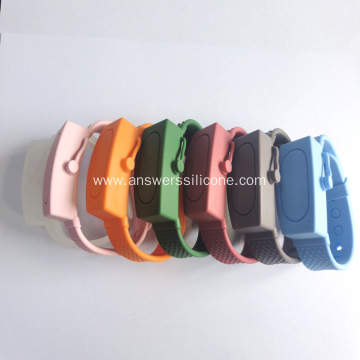 Portable Silicone Liquid Wearable Travel Size Bracelet